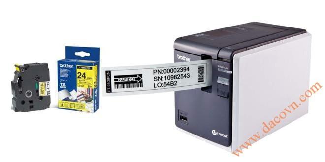 PT-9800PCN Máy in nhãn tem mã vạch kết nối mạng P-Touch Brother