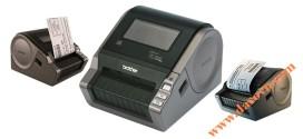 Máy in nhãn mã vạch Q-Barcode tem nhãn giấy Brother QL-1050, Khổ nhãn tới 102mm
