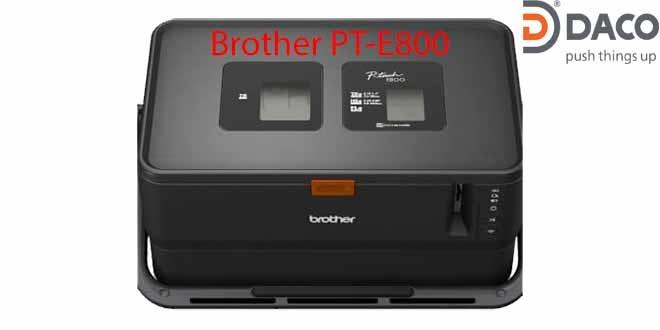 Máy in nhãn đa lớp-Máy in ống lồng đầu cốt Brother PT-E800 Không bàn phím
