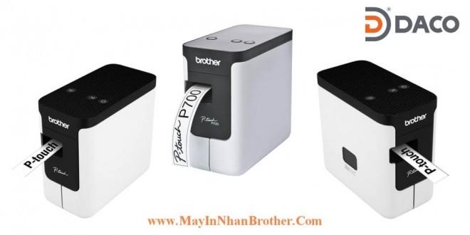 Những lý do nên mua máy in nhãn Brother PT-P700 tại công ty Daco Hà Nội