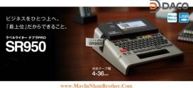SR950 MÁY IN NHÃN ĐA LỚP QWERTY TEPRA, 4~36MM, KẾT NỐI PC WIN, MAC, USB