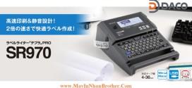 SR970 Máy in nhãn đa lớp Qwerty Tepra, 4~36mm, Kết nối PC Win, Mac, USB