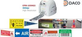 CPM-100H Máy In nhãn Cắt chữ MAX BEPOP CPM-100H, Kích thước tối đa 100*2000 MM, 400 dpi