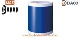 SL-S114N Nhãn in Bepop CPM100, Màu Xanh-Blue, 110mm x 10m