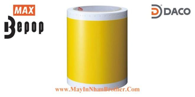 SL-S115N Nhãn in Bepop CPM100, Màu Vàng, 110mm x 10m