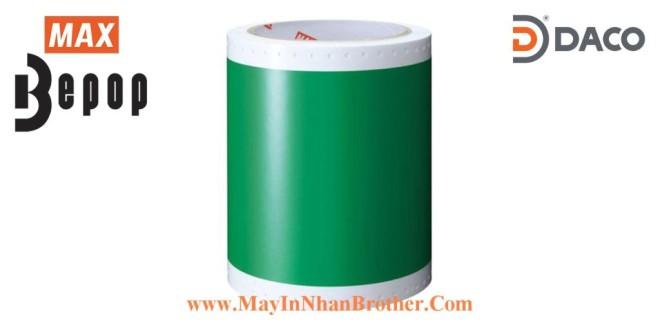 SL-S116N Nhãn in Bepop CPM100, Màu Xanh-Green, 110mm x 10m
