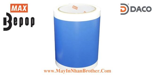 SL-S123N Nhãn in Bepop CPM100, Màu Xanh-Blue Coban, 110mm x 10m