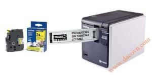 May in tem nhan ma vach da lop Brother P-Touch PT9800PCN, Máy in tem nhãn mã vạch đa lớp kết nối mạng P-Touch Brother PT-9800PCN