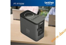 May in nhan Brother PT-P750W De ban wifi