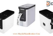 May in nhan da lop Brother PT-P700 de ban