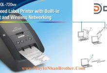 May in nhan giay QL-720NW ket noi Wifi - Mang LAN