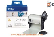 Nhan giay Brother DK-11207 Tron 58mmx100 mieng