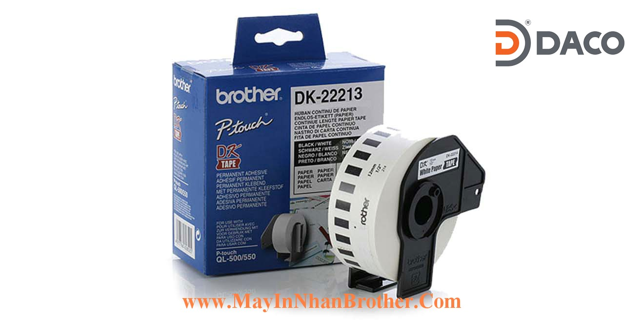 Nhan giay Brother DK-22113_62mmx 15.24m