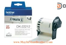 Nhan giay Brother DK-22212_62mm