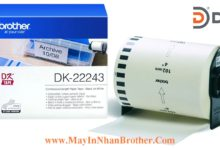Nhan giay Brother DK-22243_102mm