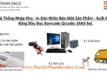 DIAS-SeL_Security Label - He Thong Nhap Xuat Kho-In Tem Dan Nhan Bao Mat San Pham